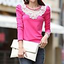 camisa de encaje de algodón de las mujeres de coco zhang