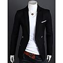 bolsillo corte ajustado traje de chaqueta de los hombres shyess