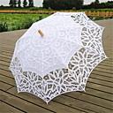 blanco estilo vintage lleno battenburglace boda paraguas sombrilla de novia