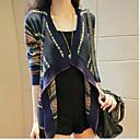 JYS Women's Long Sleeve Slim Fashion Lapel Neck Causual Print Coats