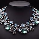 brillante collar de diamantes de imitación collar de la joyería de las mujeres jq