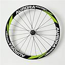 aurora bicicleta de carretera 700c, anchura 23mm ruedas tubulares de carbono bicicleta llena de profundidad 38mm