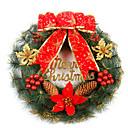 navidad decoración guirnalda puerta