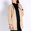 YDW Women's Fashion Fur Long Coat SV007780 Screen Color