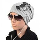 HouTong Unisex Fashion Winter Peopel Print Hip Hop Beanie Hat