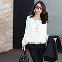 blousechiffon gasa color sólido color sólido de las mujeres blusa alc