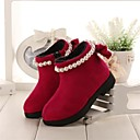 Girls Shoes Comfort  Flat Heel  Ankle Boots with Imitation Pearl More Colors available