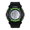 multi-función de barómetro de pesca digital de reloj de pulsera impermeable altímetro termómetro barómetro