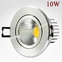 10w 900lm mazorca llevó la lámpara de focos de techo blanco / blanco cálido llevó downlights ac85-265v