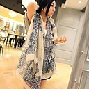 2014 nueva bufanda de invierno versión coreana de las mujeres de la bufanda de gasa suide b08 08 de color beige
