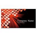 negocio de tarjetas de 200pcs 2 lados impresa patrón de color rojo y negro