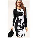 Dresss Womens Floral Print Long Sleeve Dress TM1322