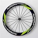 AURORA RACING Road 60C-20.5mm Carbon Clincher Road Bike Wheels With Alloy Brake Novatec Hubs and Pillar Spokes