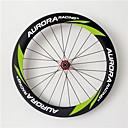 aurora 700c de carreras de 60mm 20.5mm de ancho ruedas ruedas de fibra de carbono remachador bicicleta