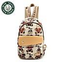 bolsa de la escuela estudiante de moda Daka Bear deportes mochila informal mochila bolsa de lona