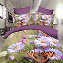 maison 18d ropa de cama de la impresión floral de cuatro piezas con pulsera de perlas gratis