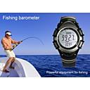 multifunción reloj digital de muñeca gris barómetro de pesca digital resistente al agua termómetro altímetro 0,25 mdm05g