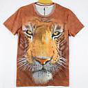 la moda de los hombres de arándanos 3d imprimir corta camiseta 2026