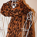 suide-women-voile-leopard-fold-the-scarf-b32-brown