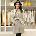 abrigo de lana de las mujeres