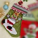 la reina de la moda venus patrón lindo de santa claus calcetines