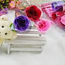 10pcs subieron aromaterapia aceite esencial de rosa de la flor del jabón para el cuerpo (más colores)