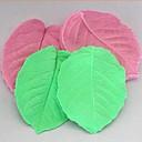 3d hoja de sujeción herramientas de decoración de la torta de la pasta de azúcar de silicona pastel de molde, l8cm   w6.5cm h1cm