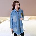 Womens Loose Denim Trench Coat(More Colors)