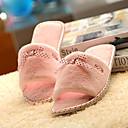 Womens Shoes Round Toe Flat Heel Fleece Slippers Shoes