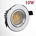 10w 900lm llevados mazorca blanco / blanco cálido techo lámpara de la luz del punto del LED abajo luces ac85-265v