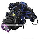 LT-0066  Rechargeble  3Mode   CREE XML L2   LED Headlight   Headlamp(2200LM.2X18650. Purple)