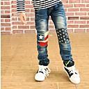 Boys Knee Star Printed Pants