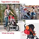 toda bicicleta conjunto Taga añadir  1 bolsa de lado ruituo ™ 3 ruedas plegables bicicleta 16inch bebé cochecito 3 en aleación de aluminio 1