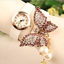 Sa Sa Women's All Match Pearl Diamond Watch