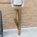 algodón pantalones casuales de yhsmen 166