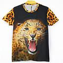 la moda de los hombres de arándanos 3d imprimir corta camiseta 2030
