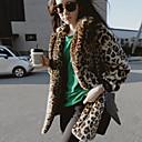 abrigo coreano Ruizhi abrigo de leopardo sexy