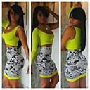 2014 mujeres del vestido del vendaje aw más verano tamaños un hombro VESTIDOS vestido 2 piezas celebridad bodycon sexy vestidos de fiesta