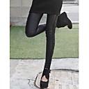 KissTiesWomens Leather Leggings Side Lace Fashion Pants