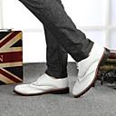2014 nueva moda de los hombres de ocio zapatos bajos de la ayuda de los hombres Haopeng 128 blanco