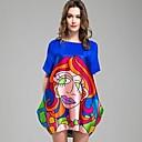 DMI™ Womens Round Collar Silk Dress