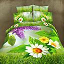 maison 11d ropa de cama de la impresión floral de cuatro piezas con pulsera de perlas gratis