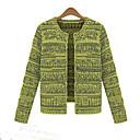 capa de la rebeca del suéter de las mujeres Zebro