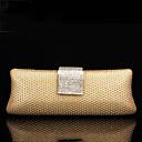 bolso de noche elegante de las señoras SexyLady 1113e amarillo 23  9  5cm