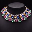 brillante collar collar de gemas mulitcolor joyería jq de las mujeres
