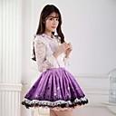 Gonna Dolce Da principessa Cosplay Vestiti Lolita Viola Con stampe Lolita Lunghezza media Gonna Per Da donna Poliestere