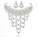 Luxurious Ladies/Womens Alloy Wedding/Party Jewelry Set With Rhinestone