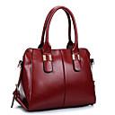 VUITTON  Women PU Baguette Shoulder Bag / Tote - Blue / Red / Black