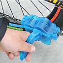 Image of Spazzola per catena bici Strumento per pulizia catena bici Lavaggio facile Utensile rotante per pulizia Spazzole rotanti a 360° Conveniente Per Bici da strada Mountain bike Ciclismo Plastica ABS Blu