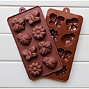 Fashion Silicone Chocolate Mold Candy Shaping Cake Decorating Cake Cooking Tools Ice Modelling Mould(Random Color)